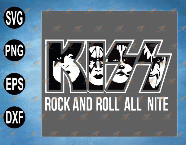 wtm web 2 03 29 Vectorency KISS SVG, Rock & Roll All Nite, KISS Alive Worldwide SVG, Rock Band SVG, Music SVG, Vintage 90s Kiss Rock Band Concert Tour SVG, PNG, EPS, DXF Digital File, Digital Print Design