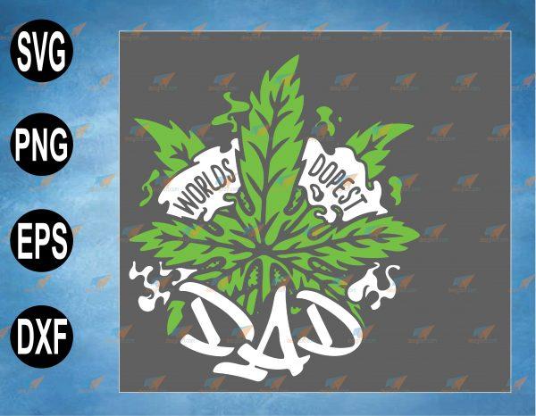 wtm web 2 03 31 Vectorency Worlds Dopest Dad Men Cannabis Leaf Svg, Dad Marijuana Svg, Weed Smoker Svg, Drug Svg, 420 Svg, Cricut Design, Digital Cut Files