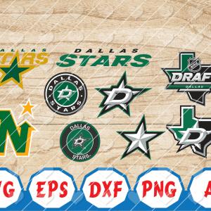 10 Vectorency Dallas Stars SVG, Dallas Stars Logo, Dallas Stars Files, Dallas Stars Clipart, Dallas Stars cut, NHL Files