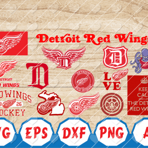 11 Vectorency Detroit Red Wings SVG, Detroit Red Wings Files, Detroit Red Wings clipart, Detroit Red Wings Logo, Detroit Red Wings cricut, NHL