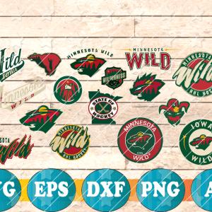 15 1 Vectorency Minnesota Wild SVG, Minnesota Wild Files, Minnesota Wild clipart, Minnesota Wild Logo, Minnesota Wild cricut, NHL