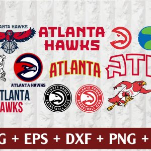 17 1 Vectorency Atlanta Hawks Logo SVG, Atlanta Hawks Cut Files, Cut Files, PNG, EPS, DXF, DIGITAL FILE