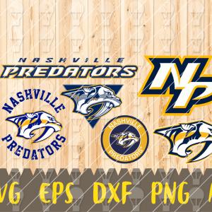 17 Vectorency Nashville Predators, Nashville Predators Files, Nashville Predators clipart, Nashville Predators Logo, Nashville Predators cricut, NHL
