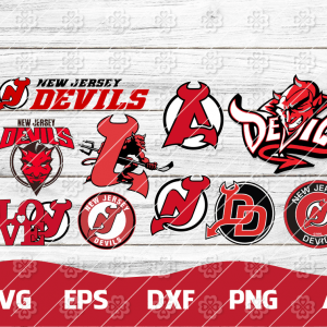18 Vectorency New Jersey Devils SVG, New Jersey Devils FILES, New Jersey Devils Clipart, New Jersey Devils Logo, New Jersey Devils Cricut, NHL