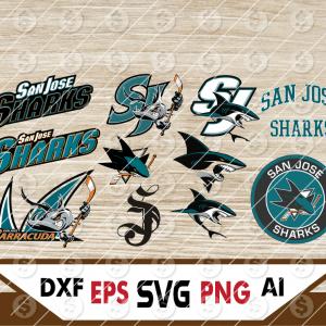 24 Vectorency San Jose Sharks cricut, San Jose Sharks, San Jose Sharks Files, San Jose Sharks clipart, San Jose Sharks Logo, NHL