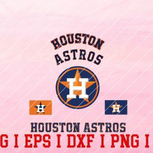 27 Vectorency Houston Astros SVG, EPS, DXF files of a Sports Team, for Cutting, Design, T-Shirts, Mugs, Projects, Crafts