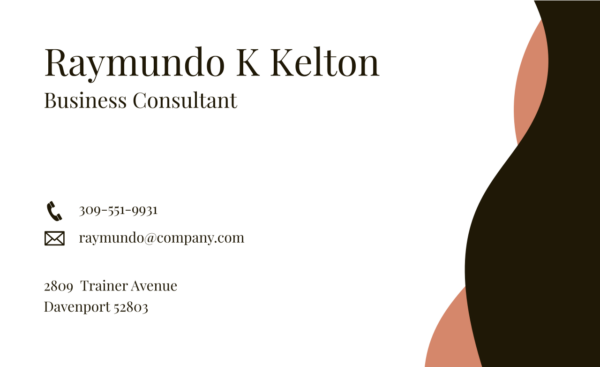 3 Vectorency Business Card Template