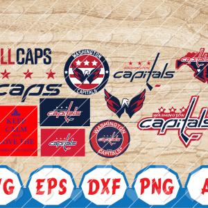 30 Vectorency Washington Capitals, Washington Capitals SVG FILES, Washington Capitals clipart, Washington Capitals logo, Washington Capitals cricut, NHL