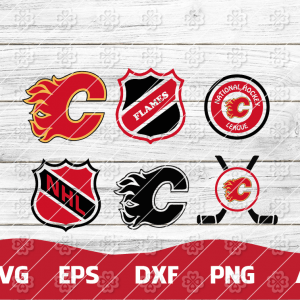 5 1 Vectorency Calgary Flames, Calgary Flames Logo SVG Bundle, Calgary Flames FILES, Calgary Flames Clipart, Calgary Flames Cut, NHL FILES