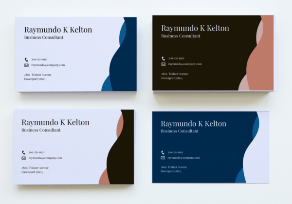 5 Vectorency Business Card Template