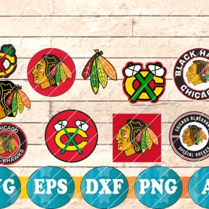 7 Vectorency Chicago Blackhawks SVG, Chicago Blackhawks FILES, Chicago Blackhawks Clipart, Chicago Blackhawks Logo, Chicago Blackhawks Cricut, NHL
