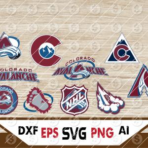 8 Vectorency Colorado Avalanche SVG, Colorado Avalanche Files, Colorado Avalanche clipart, Colorado Avalanche logo, Colorado Avalanche cricut, NHL