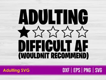 Adulting SVG