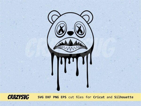 Baws Drip SVG Baws Bear Vector