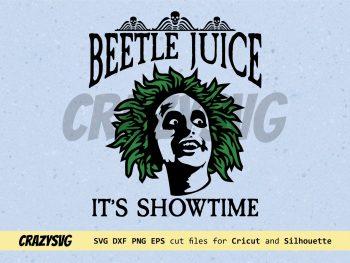 Beetlejuice It's Showtime SVG