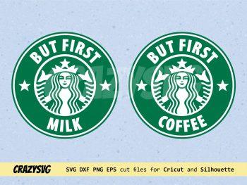 But First Coffee Starbucks Logo