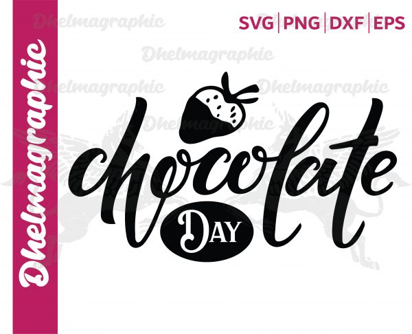 Chocolate Day SVG Vectorency Chocolate Day SVG