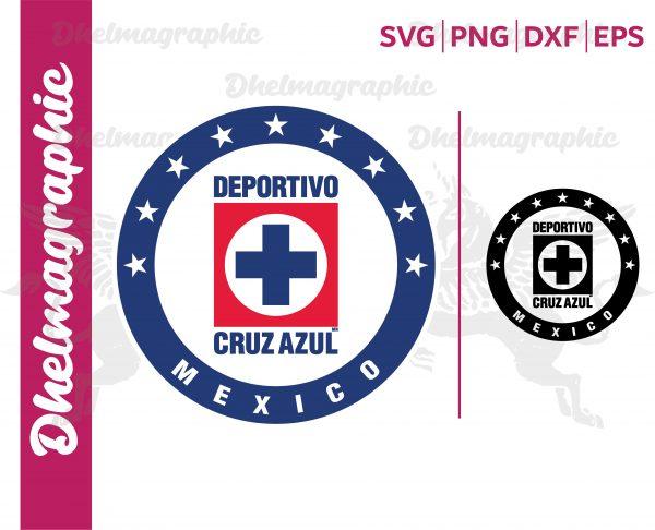 Cruz Azul Logo SVG Club Cruz Azul La Maquina Liga MX Vectorency Cruz Azul Logo SVG, Club Cruz Azul La Maquina, Liga MX