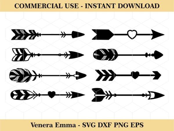 Cute Arrows SVG Bundle