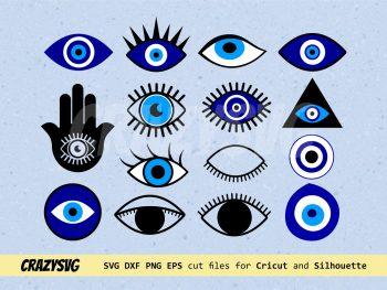 Evil Eye SVG Bundle