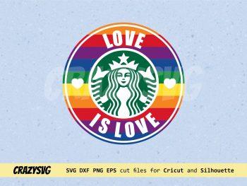 Gay Starbucks Love is Love
