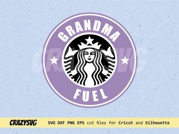 Grandma Fuel Starbucks Logo