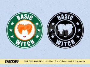Hocus Pocus Winifred Starbucks Logo