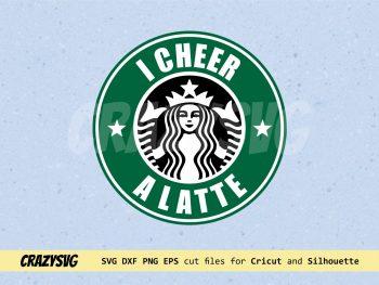 I Cheer a Latte Starbucks Logo