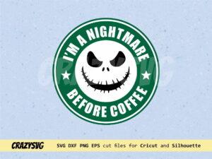 Jack Skellington Starbucks Logo