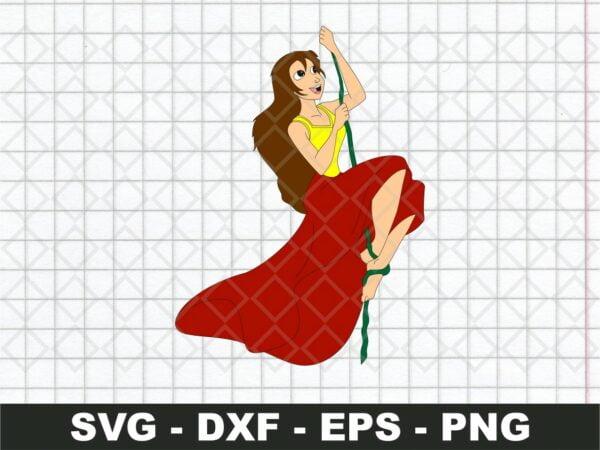 Jane SVG
