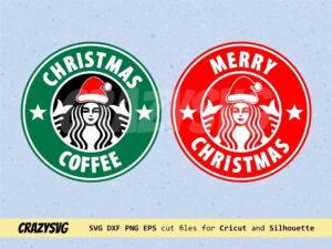 Merry Christmas Coffee Starbucks Logo