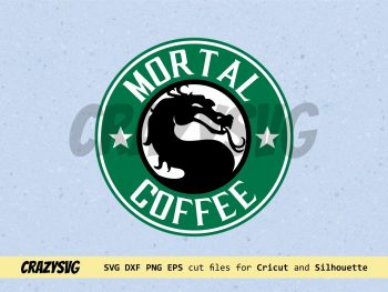 Mortal Kombat Starbucks Logo