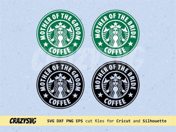Mother of the Bride & Groom Starbucks Logo