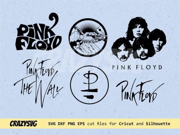 Pink Floyd Logo SVG