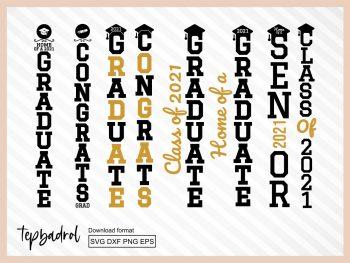 Porch Sign Graduation SVG