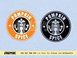 Pumpkin Spice Starbucks Logo