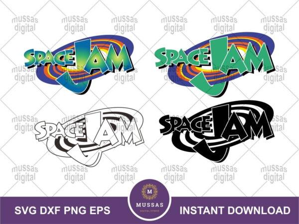 Space Jam SVG