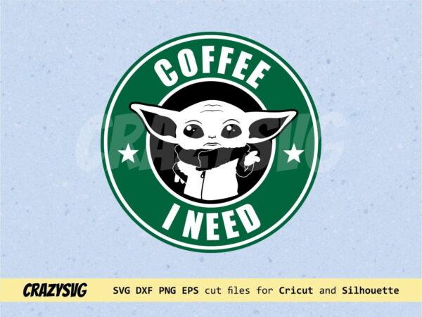 Starbucks Baby Yoda Coffee I Need