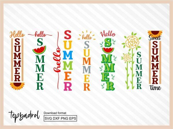 Summer Porch Sign SVG Bundle