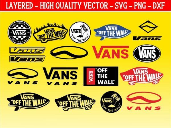 Vans Logo Vector Bundle Vans SVG
