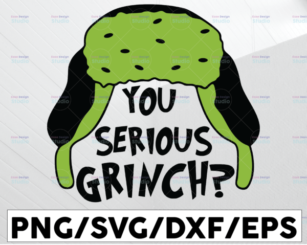 WTMETSY13012021 01 70 Vectorency You Serious Grinch SVG, Grinch SVG, Cute Grinch SVG, Grinch Christmas SVG, Christmas SVG