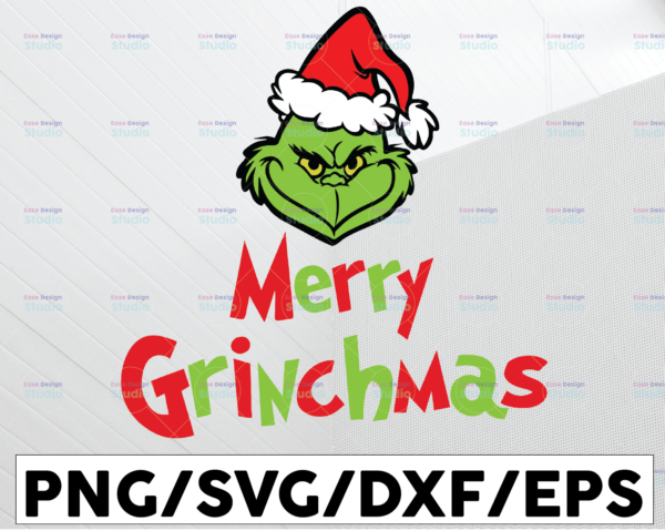WTMETSY13012021 01 71 Vectorency Merry Grinchmas SVG, Christmas 2021 SVG, Grinch SVG, Christmas SVG, Digital Download