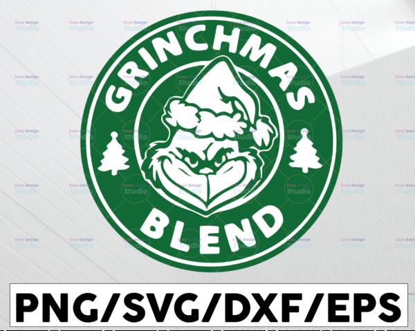 WTMETSY13012021 01 72 Vectorency Grinchmas Blend SVG, Grinchmas Coffee, Merry Grinchmas SVG, Starbucks Logo Grinchmas, Grinch Coffee PNG, Logo SVG PNG Christmas SVG Cut Vector