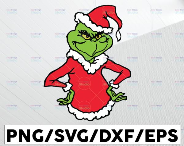 WTMETSY13012021 01 73 Vectorency The Grinch SVG Grinch SVG, Cute Grinch SVG, Grinch Christmas SVG, Christmas SVG, Grinch xmas SVG