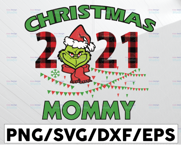 WTMETSY13012021 01 97 Vectorency Christmas 2021 Mommy PNG, The Grinch, Christmas Mommy, Grinch Mommy, Christmas Gift, Sublimated Printing, INSTANT DOWNLOAD, PNG Printable