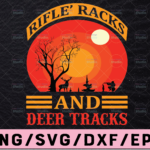 WTMETSY13012021 02 46 Vectorency Rifles Racks and Deer Tracks SVG, Deer SVG File for Cricut and Silhouette