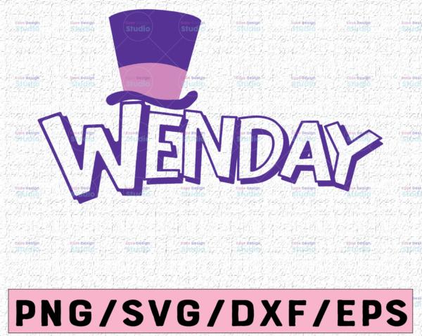 WTMETSY16122020 02 28 Vectorency Wonka Custom Logo with Name, Logo Personalized Wonka SVG PNG, Banner Digital Wonka Logo SVG Custom Logo SVG PNG
