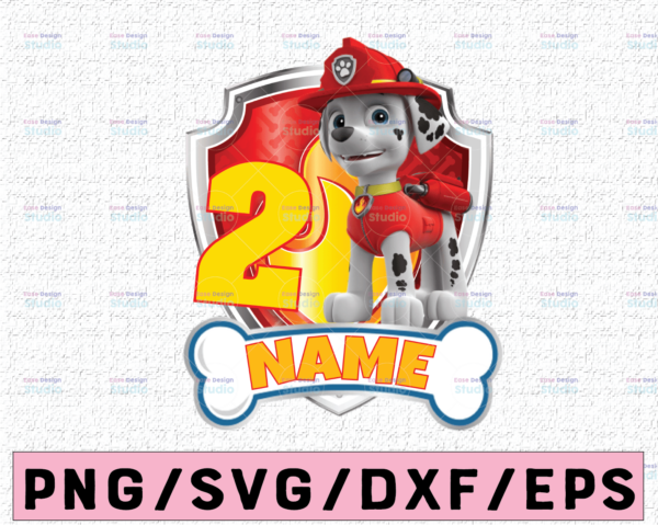 WTMETSY16122020 02 38 Vectorency Paw Patrol Chase Birthday PNG, Paw Patrol Birthday PNG Family Custom Age and Name Birthday Custom Gift Raglan Kids Family