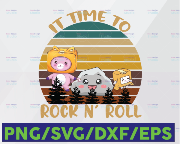 WTMETSY16122020 06 82 Vectorency Lanky Arts Box Design Rock and Roll Playing Gaming Png Sublimation Design Digital Download
