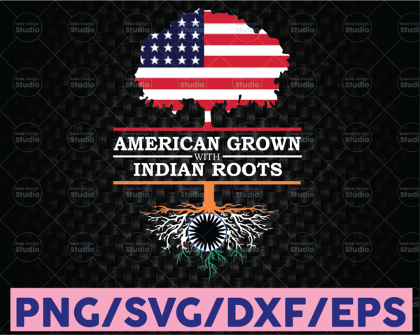WTMETSY16122020 08 25 Vectorency Indian PNG India PNG American Grown Indian Roots PNG Nationality cultural PNG File
